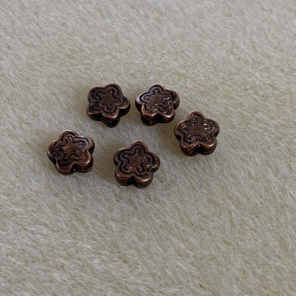 Metal Flower Spacers 7mm