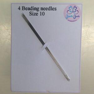 Size 10 beading needles