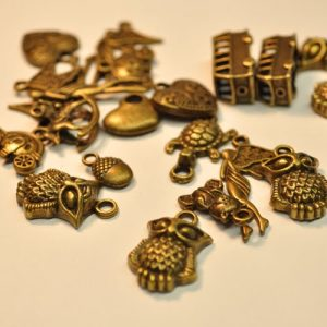 Bronze Charms Mixed