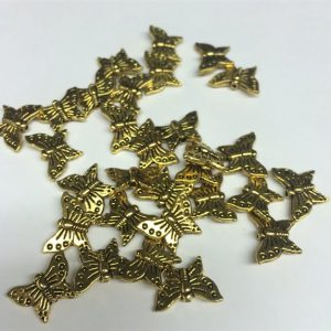 Butterfly Spacer Beads
