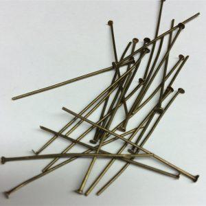 Bronze Colour Head Pins 5cm