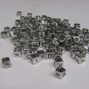 Acrylic Alphabet Cubes