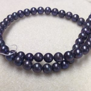 Fresh Water Pearl Grade A Black 6-7mm