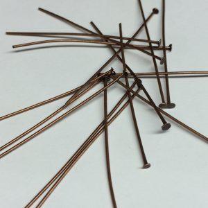 Copper Head Pins 5cm