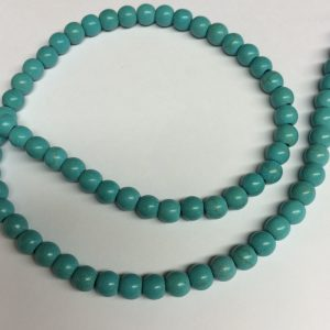 Turquoise Dyed Howlite 8mm