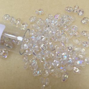 Superduo Crystal AB beads