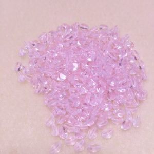 Pinch Beads Pale Pink 5mm
