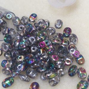 Superduo Crystal Vitral Beads