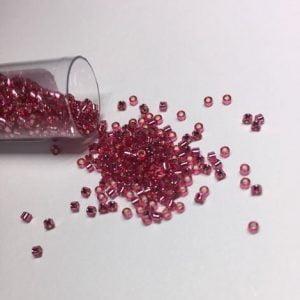 Dyed SL Med Rose Miyuki Delica Beads DB-1341 7.2g