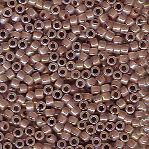 Cocoa Lined Opal Ab Miyuki Delica Beads DB-1749 7.2g