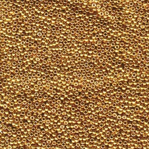 Galvanised Yellow Gold 15-91053 8.2g Miyuki Seed Beads