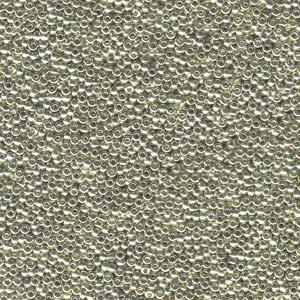Galvanised Silver 15-9181 8.2g Miyuki Seed Beads
