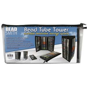Bead smith Tube Tower Storage Case
