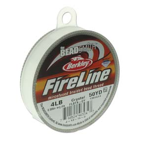 4lb Crystal Fireline Beading thread