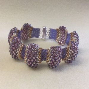 Peyote Wave Cuff Handmade Jewellery