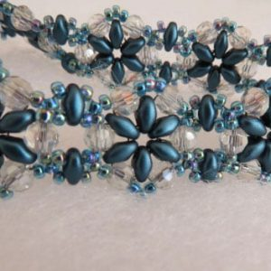 Duo Daisies Bracelet Handmade Jewellery