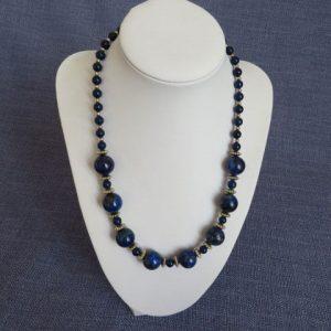 Lapis Lazuli Gemstone Necklace Handmade Jewellery
