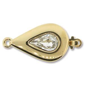 Elegant 1 Strand GP Teardrop Clasp