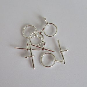 Toggle 12mm Silver Plate Clasp