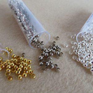 Crimp Beads 3mm-0