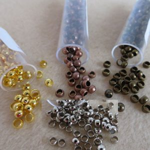 Crimp Beads 4mm-0