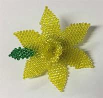 Beaded Daffodil Pattern Download