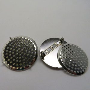 Brooch Pin Sieve Disc 35mm