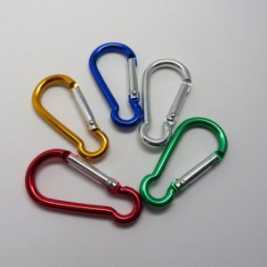 Carabiner Clips Mixed colour Pack