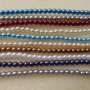 3mm Czech Pearls