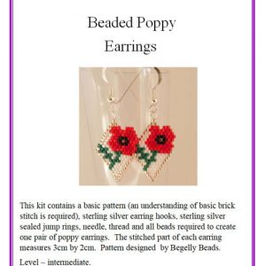 Poppy Earrings Kit