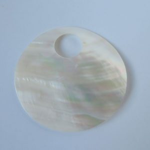 Shell Disc Pendant Large