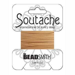 Deep Beige Soutache