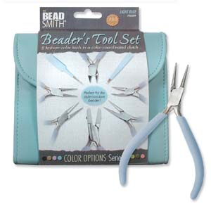 Beader's Toolset Light Blue -0
