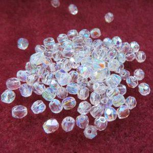 3mm Czech Crystal AB
