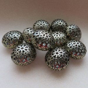 Filigree Bronze Spacers