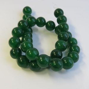 Dyed Jade 12mm Beads