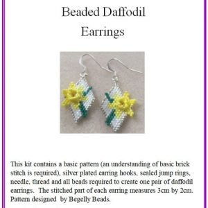 Daffodil Earring Kit