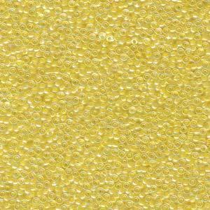 15-9273 Lined Pale Yellow 8.2g Miyuki Seed Beads