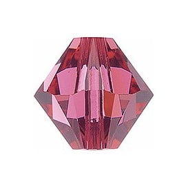 Swarovski 4mm Bicone Indian Pink