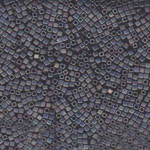 Matte Black Ab Miyuki Cube 1.8mm
