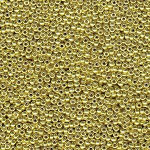 Miyuki Seed Beads Size 8 Duracoat Galvanised Zest