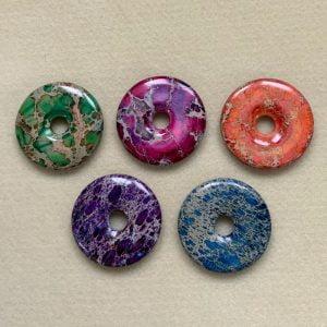 Gemstone Donuts 50mm