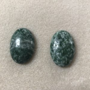 Green Agate Cabochon
