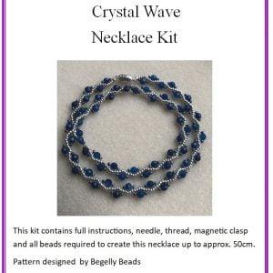 Crystal Wave Necklace Kit