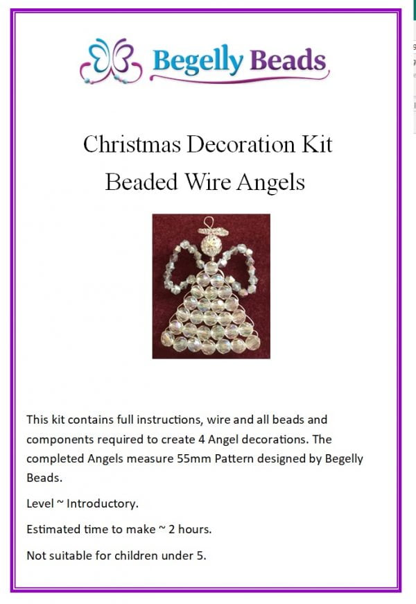 Angel Decoration Kit