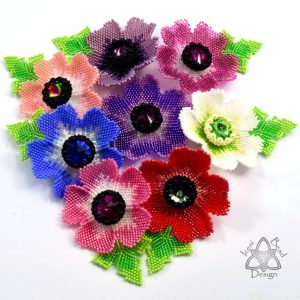 Anemone Brooch Pattern