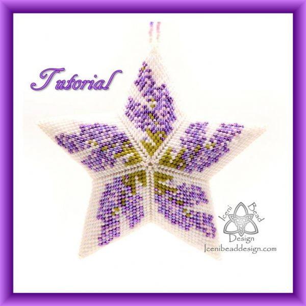 Lavendar Star Pattern