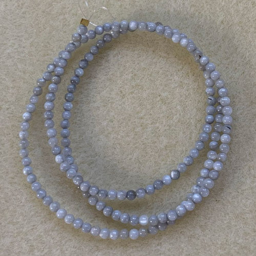 Shell 2.5mm round beads